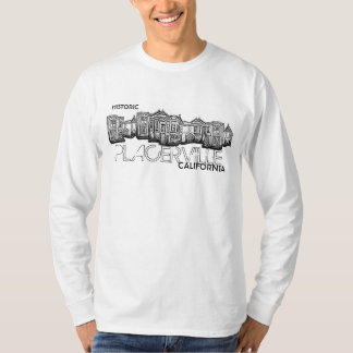 Historic Placerville California guys shirt