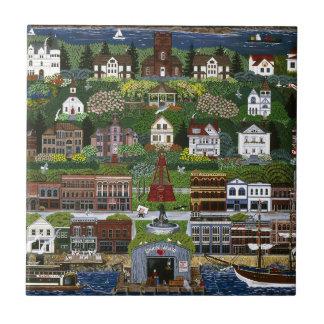 Historic Port Townsend, Washington Ceramic Tile