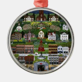 Historic Port Townsend, Washington Metal Ornament