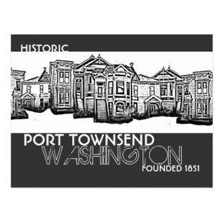 Historic Port Townsend Washington postcard
