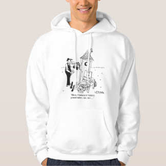 Historic Preservation of Outhouses? Hoodie