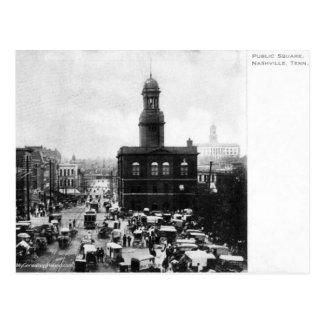 Historic Public Square Postcard