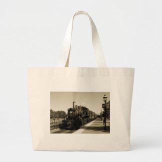 Historic Railroad Tote Bag