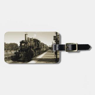 Historic Railroad Bag Tag
