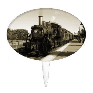 Historic Railroad Cake Topper