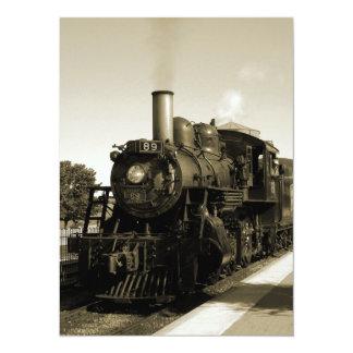 Historic Railroad Card
