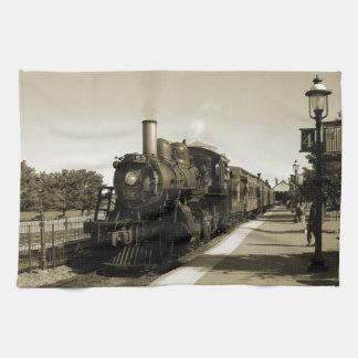 Historic Railroad Hand Towel