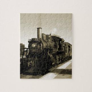 Historic Railroad Jigsaw Puzzle