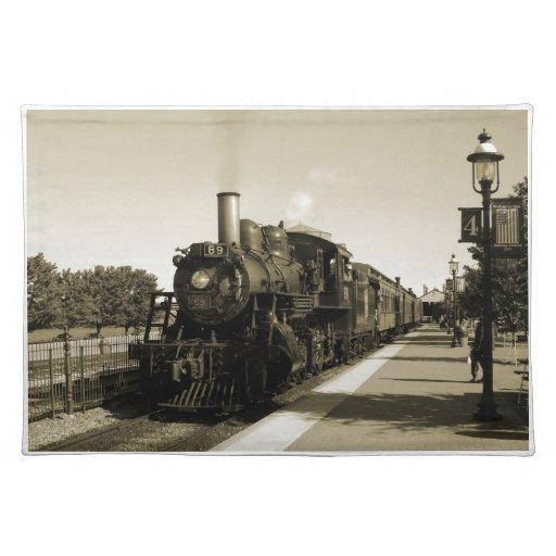 Historic Railroad Place Mat