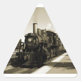 Historic Railroad Triangle Sticker