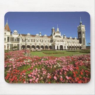 Historic Railway Station, Dunedin, New Zealand Mouse Pad