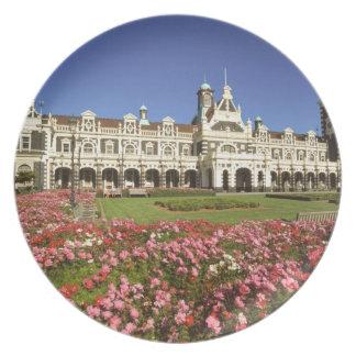 Historic Railway Station, Dunedin, New Zealand Plates