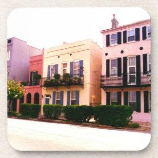 Historic Rainbow Row Charleston South Carolina Coasters