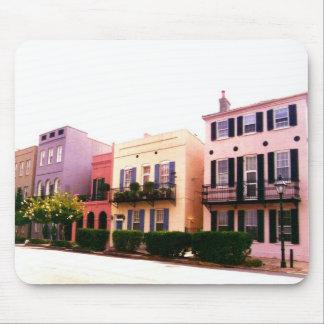Historic Rainbow Row Charleston South Carolina Mouse Pad