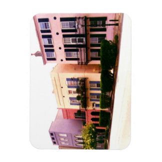Historic Rainbow Row Charleston South Carolina Rectangular Photo Magnet