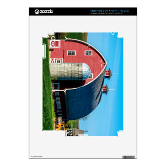 Historic Red Barn - Palouse Region - Washington Decals For iPad 3