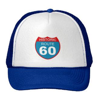Historic Route 60 Trucker Hat