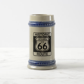 Historic Route 66 - California Beer Stein