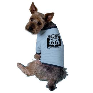 Historic Route 66 - California Pet Shirt
