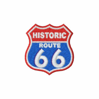 Historic Route 66 Embroidered Hoody