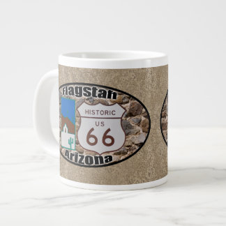 Historic Route 66 ~ Flagstaff, Arizona Large Coffee Mug