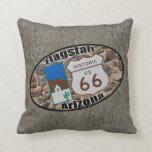 Historic Route 66 ~ Flagstaff, Arizona Pillow