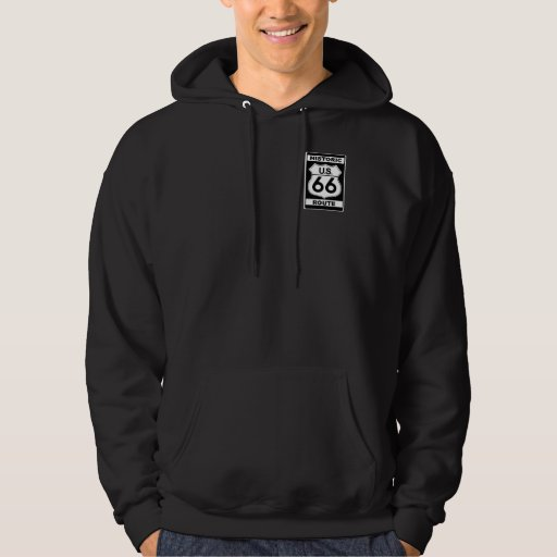 Historic Route 66 Hooded Sweatshirt
