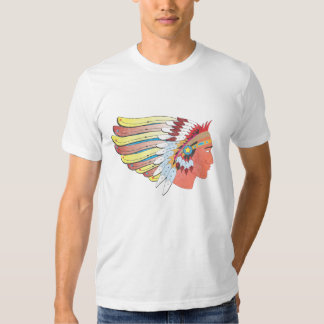 Historic Route 66 Indian Chief T-shirts