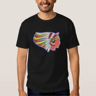 Historic Route 66 Indian Chief Tshirt