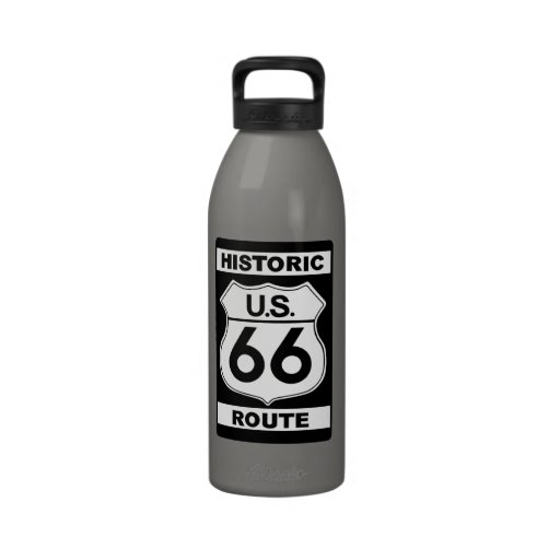 Historic Route 66 Liberty Water Bottle