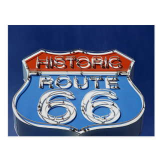 Historic Route 66 Postcard