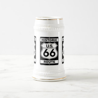 historic-route-66-posters, d1036historic-r... 18 oz beer stein