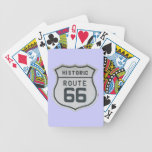 HIstoric Route 66 Sign Playing Cards Bicycle Playing Cards