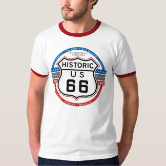 Historic Route 66 T-shirts