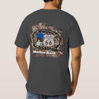 Historic Route 66 ~ Winslow, Arizona Tshirts