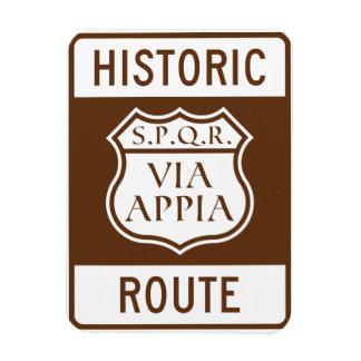 Historic Route: Fridge Magnet