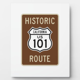 Historic Route U.S. Route 101 (California) Sign Plaques
