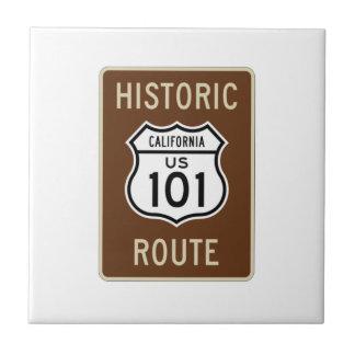 Historic Route U.S. Route 101 (California) Sign Tile