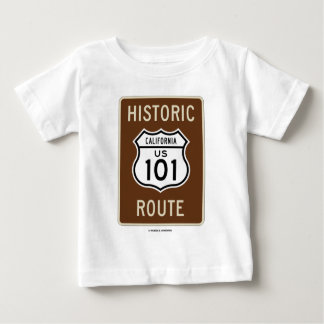 Historic Route US 101 California (Sign) Baby T-Shirt