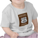 Historic Route US 101 California (Sign) Tshirts