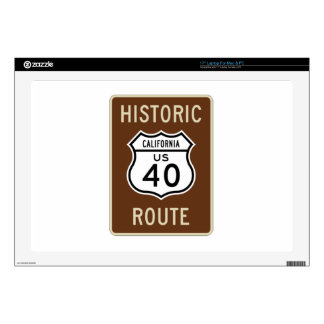 Historic Route US Route 40 California Skin For Laptop