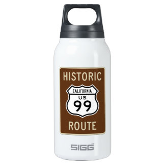 Historic Route US Route 99 (California) Sign 10 Oz Insulated SIGG Thermos Water Bottle