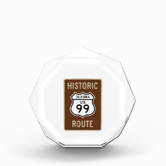 Historic Route US Route 99 (California) Sign Award
