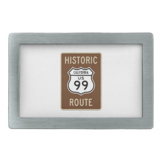 Historic Route US Route 99 (California) Sign Belt Buckles