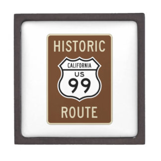 Historic Route US Route 99 (California) Sign Premium Gift Boxes