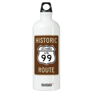 Historic Route US Route 99 (California) Sign SIGG Traveler 1.0L Water Bottle