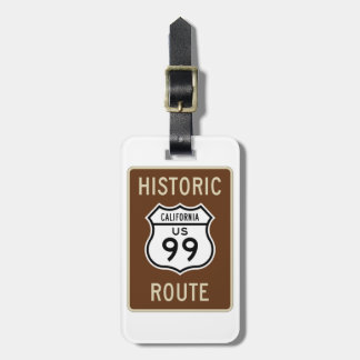 Historic Route US Route 99 (California) Sign Tag For Bags