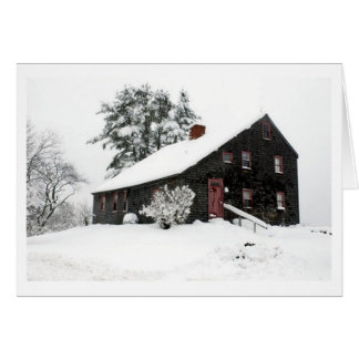 Historic Saltbox Note Card