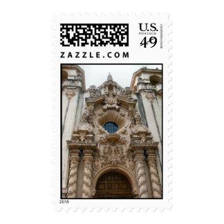 historic san diego church postage stamp