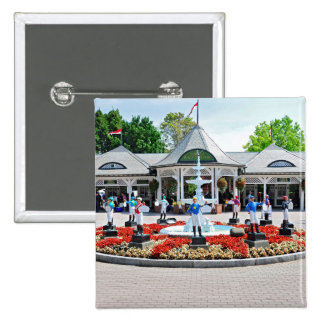 Historic Saratoga 150 on Opening Day Pin